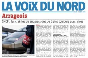 SNCF: les craintes de suppressions de trains toujours aussi vives chez les usagers arrageois